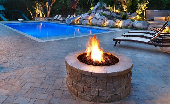 Custom Fire Features Impressions Landscape