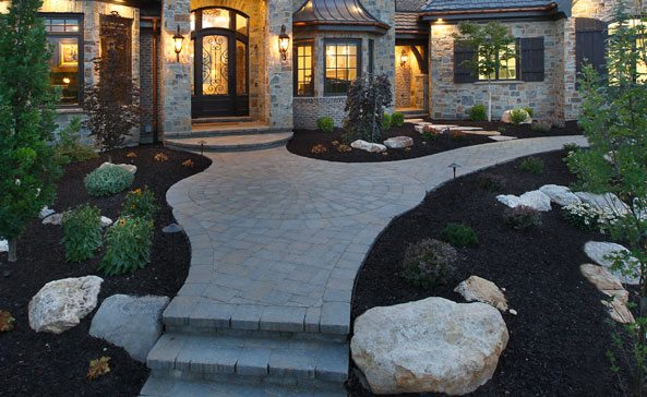landscaping pavement