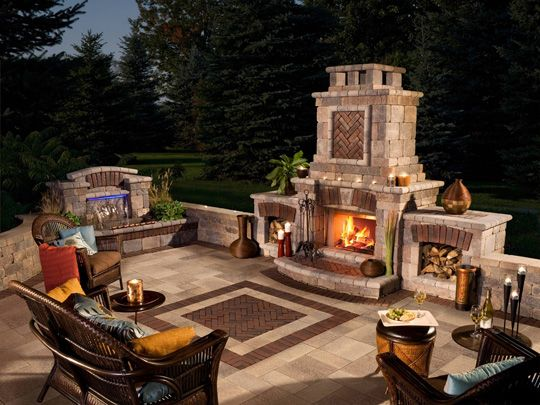The Benefits Of An Outdoor Fireplace