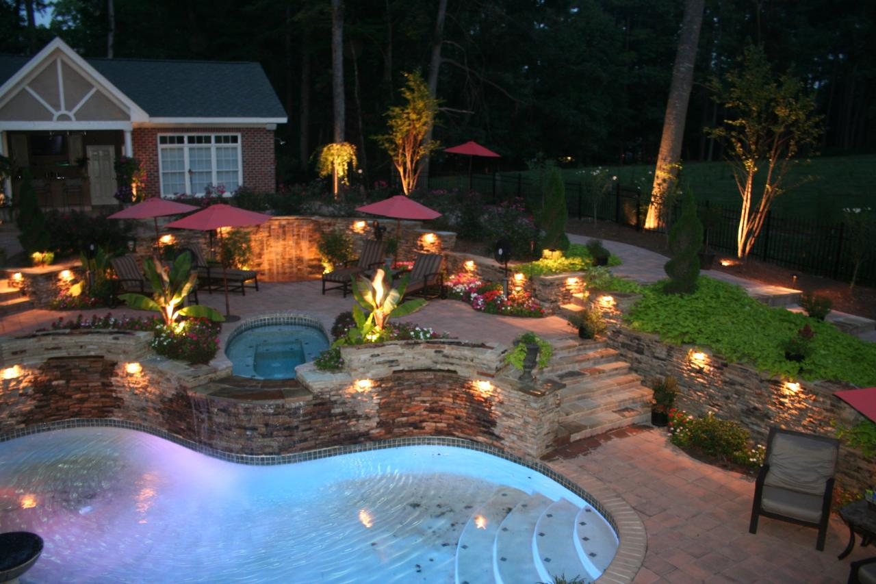 The benefits of outdoor lighting in the home impressions landscape the benefits of outdoor lighting in the home aloadofball Image collections